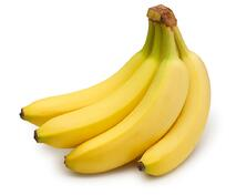 Bananas are great for bloating or after a not so healthy processed food meal.