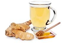 Ginger tea can combat nausia.