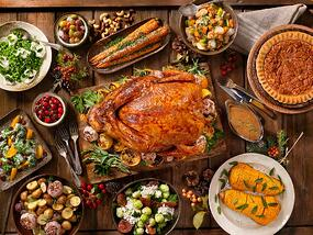 Holiday feast can wreak havoc on someone with IBS or IBD. Eat a small safer meal before you leave to a big holiday party that has lots of rich food.